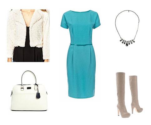 Платье+мех