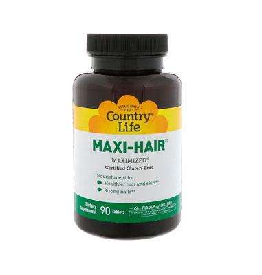 Витаминный комплекс Maxi-Hair от Country Life