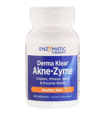 Пищевая добавка Derma Klear Akne • Zime, Skin Health от Enzymatic Therapy