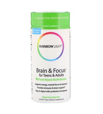 Brain & Focus for Teens & Adults от Rainbow Light