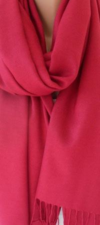 Красная пашмина