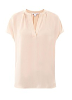 Бежевая блуза