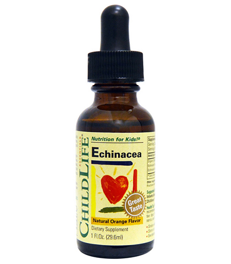 ChildLife, Essentials, Echinacea, Natural Orange Flavor