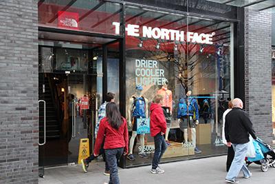 The North Face магазин