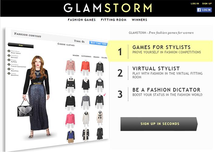 Фэшн-портал Glamstorm