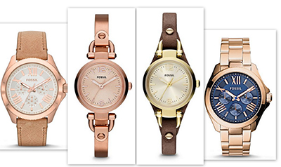 Женские часы с fossil.com