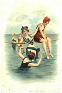 Королевы пляжа 20 века