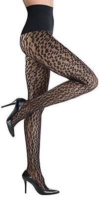 Леопардовые колготы