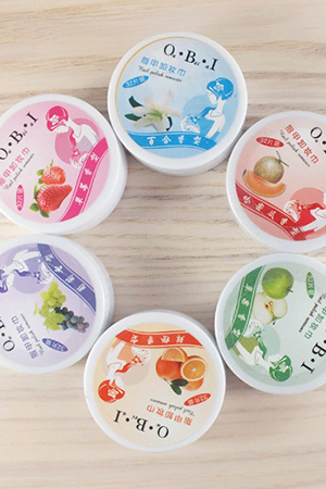 Flavor New Nail Art Polish Remover Pads