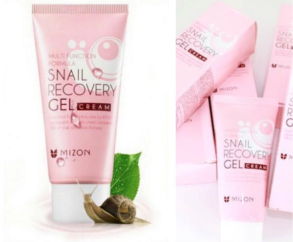 Улиточный крем-гель Mizon Snail Recovery Gel Cream