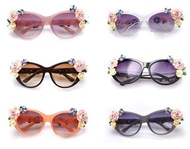 Женские очки с декором