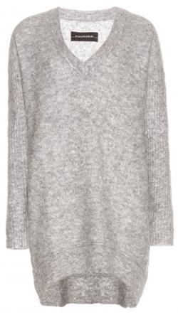 Платье-свитер до колен