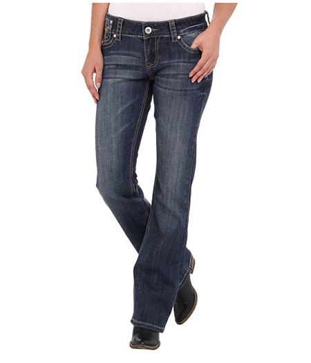 Потертые джинсы