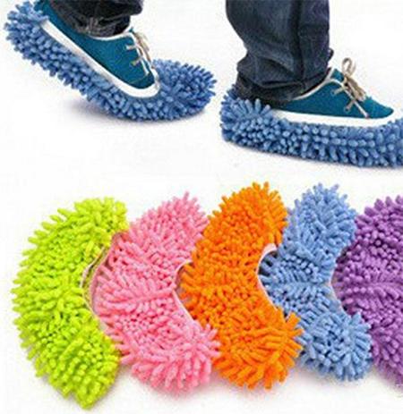 Тапочки для мытья пола