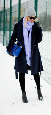 Вязка шарфа