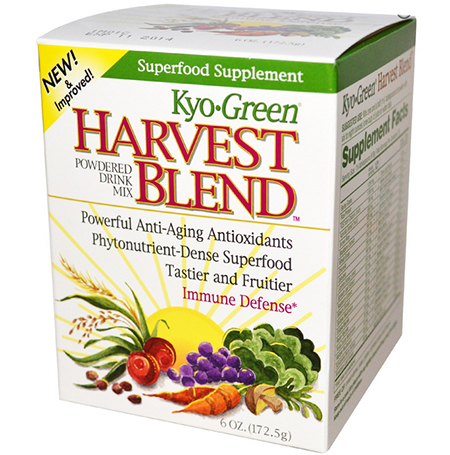 Wakunaga - Kyolic, Kyo Green, Harvest Blend, Powdered Drink Mix