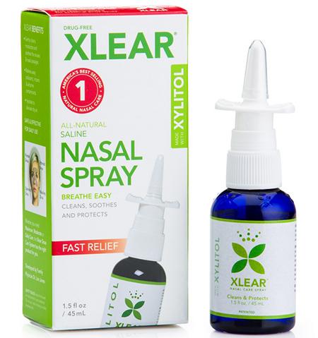 Xlear Inc (Xclear), Xylitol Saline Nasal Spray, Fast Relief